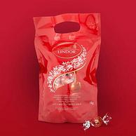 Lindt 瑞士莲 Lindor系列 牛奶巧克力球 1kg 约80颗