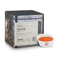 6年陳化、金華茂盛:中國黑茶老字號 白沙溪 2013年金花茯磚茶塊 100g