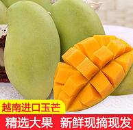 不到线下价一般,坏果包赔、5斤,越南 玉芒芒果