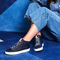 柔软鞋面+舒适鞋底:ECCO 爱步 Soft 8 女士高帮板鞋 440533