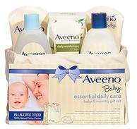 超值分量、家有宝宝可常备!Aveeno 艾维诺 护肤套装礼盒 6件