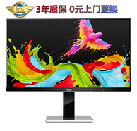 旋轉升降,100%SRGB:AOC 27英寸 IPS顯示器 LV273HQPX