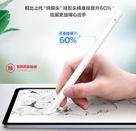 硅胶头 不伤屏:奢姿 苹果ipad通用触控笔