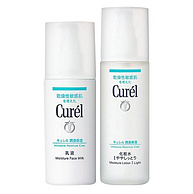 1日10点:敏感肌福音,Curel 珂润 润浸保湿水乳套装 (化妆水150ml+乳液120ml)