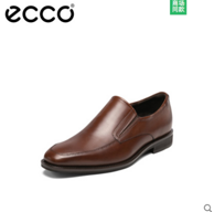 ECCO 爱步 Queenstown Bike Toe Slip on 男士真皮正装皮鞋