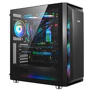 先馬 SAMA 魯班1 黑色 游戲電腦主機箱