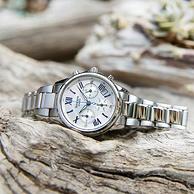 CASIO 卡西歐 SHEEN系列 SHE-5520D-7A 女款三眼計時復古手表