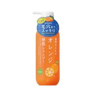 天然植物成分、弱酸无添加:400mlx3瓶 石泽研究所 弱酸性酸性皂香橙洗发水