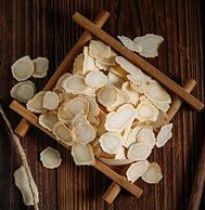 5年老参,5~6斤鲜参只得1斤软枝:固顺堂 西洋参切片 25gx2件