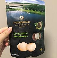 小编到货好评、神价格、去壳免剥!75gx3件 Macadamias Australia原味/蜂蜜/盐味 夏威夷果仁