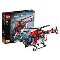 15日0点:8岁+,LEGO 乐高 机械组 42092 救援直升机