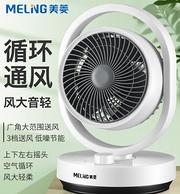 新低!3D渦輪聚風 送風8米:美菱 空氣循環扇