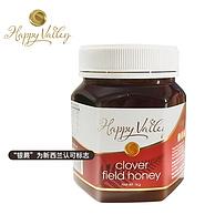 临期白菜价!新西兰进口:Happy Valley 海万利 三叶草蜂蜜 1000g