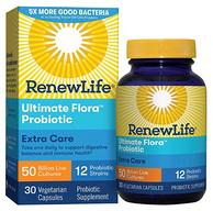 500亿超高含量:30粒 Renew Life Ultimate Flora 益生菌素食胶囊