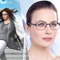 白菜价!法国顶级光学镜片,1000度:依视路 钻晶a4超薄 防蓝光辐射 非球面眼镜片 2片