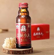 韩国国礼品牌 6年根:正官庄 高丽参元饮品 100mlx20瓶