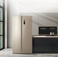 京東代下單 比二手還便宜200元 1級能效+變頻風冷:美菱 569L 對開門冰箱
