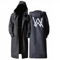 補券,EVA環保材質,全方位防水:朗特樂 男士 戶外長款時尚雨衣