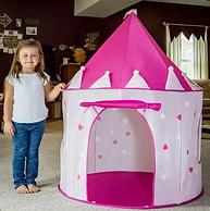 亚马逊销冠!可发光:FoxPrint 公主城堡游戏帐篷