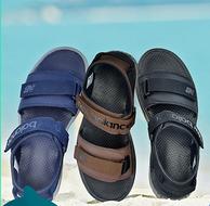 正价4.3折:New Balance 男士休闲沙滩凉鞋