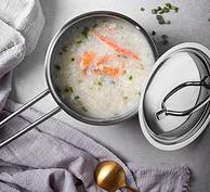 國內廚具一哥 無焊點易清洗:凌豐 16cm不銹鋼奶鍋 LFYS-16D
