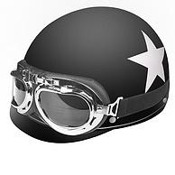 ABS材质+缓冲层内衬:远征车品行 电动车头盔