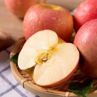 一级铂金果:5斤 鑫富百 正宗陕西洛川红富士苹果 75~79mm大果