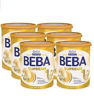 德亞自營直郵:800gx6罐 德國 雀巢 貝巴SUPREME 嬰兒高端配方奶粉1段