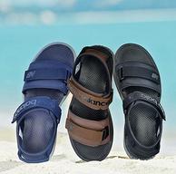 商场同款,New Balance 男士2020新款 魔术贴沙滩凉鞋 SUA250
