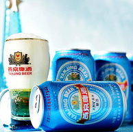 新低!五大航空專用酒:330mlx24聽x4件燕京 11°P 藍聽黃啤酒