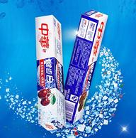 4周美白,中華 健齒白 炫動果香牙膏 200gx18支