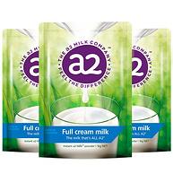 61預售:奶粉界愛馬仕,a2 高鈣全脂奶粉 1kgx3件裝