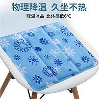 体感温度降低6度:贝简 冰垫坐垫