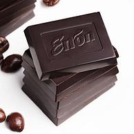 Enon 怡浓 100%纯黑巧克力 120gx12件