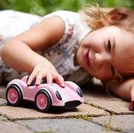 鎮店之寶:美亞發貨,Green Toys 玩具賽車 粉色 prime直郵到手32.7元