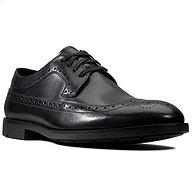 3倍差價,頭層牛皮:Clarks其樂 男士 Ronnie Limit布洛克雕花皮鞋