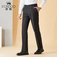 上市企业、线下同款:虎都 男士薄款休闲裤