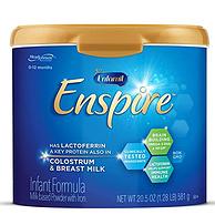 美版原裝進口,581g Mead Johnson 美贊臣 Enfamil Enspire 藍臻 1段 嬰幼兒配方奶粉