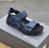 黄景瑜同款,ECCO 爱步 男士牦牛皮凉鞋 880614