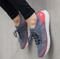 小米生态链,飞织工艺、商场同款:Amazfit 男女款 云雀超轻赤足跑鞋