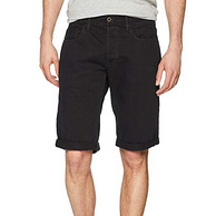 100%纯棉,G-Star Raw 男士 牛仔短裤 3301系列 D07432