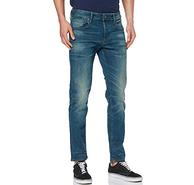 W30/L34碼,G-Star Raw 3301系列 男士修身牛仔褲