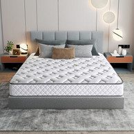 今晚0点神价格!喜临门 享睡 泰国进口乳胶弹簧床垫 180x200cm