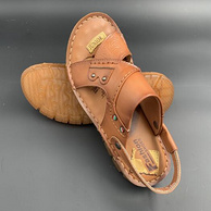 买手评测团、头层牛皮+牛筋鞋底+乳胶鞋垫:夏季新款 真皮凉鞋