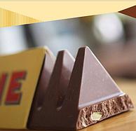 瑞士进口 亿滋 三角牛奶巧克力 6条