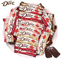 旗舰店发货:德芙 丝滑牛奶巧克力 500g