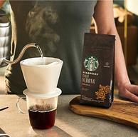 美国进口,星巴克 意式浓缩重度烘焙咖啡粉 200g