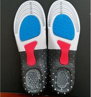 買手白菜團、蜂窩硅膠+足弓乳膠+全掌EVA:男女款 全腳掌運動鞋墊