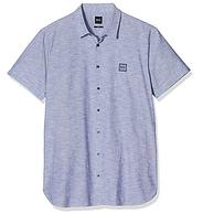 BOSS Hugo Boss 雨果·博斯 男士短袖休闲衬衫