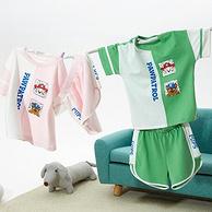 100%纯棉,PAW PATROL汪汪队立大功 儿童 家居服套装